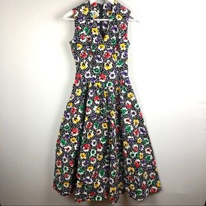 Robbie Bee Floral Multicolored Dress 4